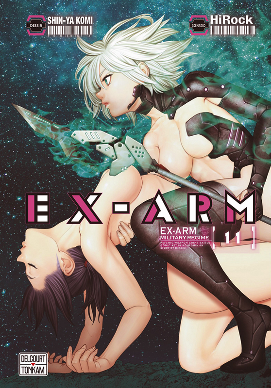 Ex-Arm T11, manga chez Delcourt Tonkam de Hirock, Komi