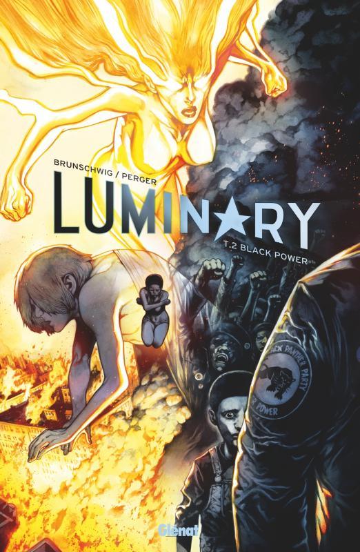 Luminary T2 : Black power (0), bd chez Glénat de Brunschwig, Perger