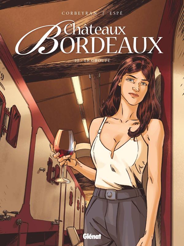 Châteaux Bordeaux T10 : Le Groupe (0), bd chez Glénat de Corbeyran, Espé, Battistuta