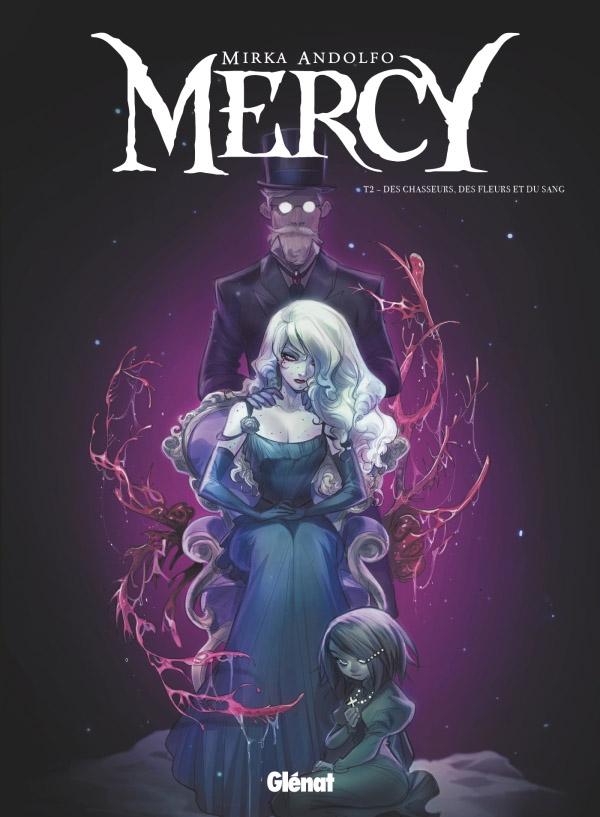 Mercy T2, comics chez Glénat de Andolfo