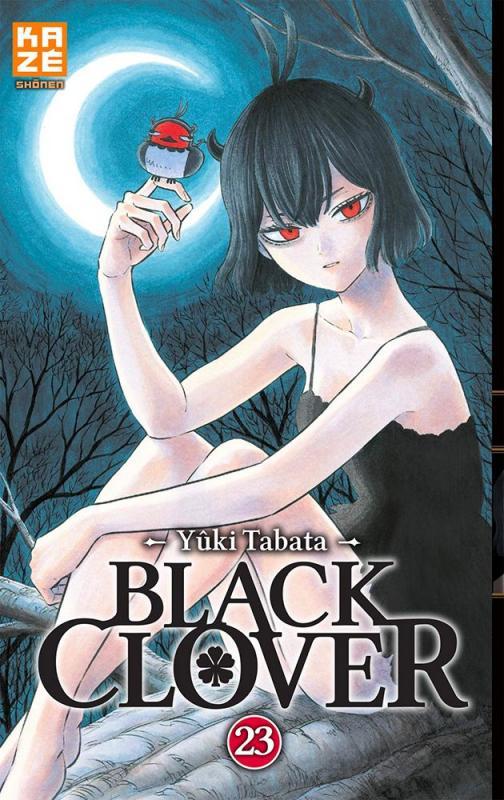 Black clover T23, manga chez Kazé manga de Tabata