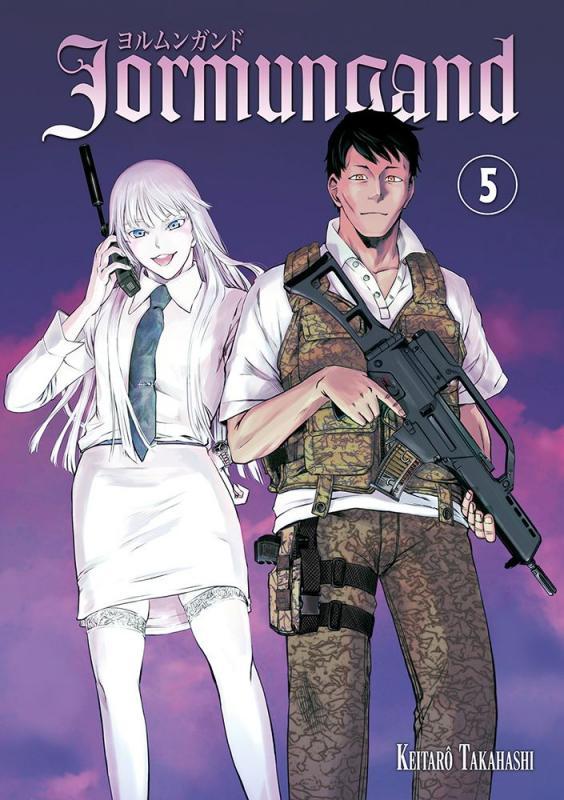 Jormungand T5, manga chez Meian de Takahashi