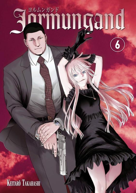 Jormungand T6, manga chez Meian de Takahashi