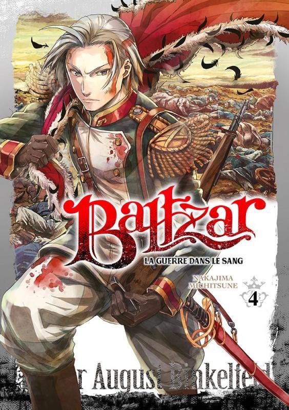 Baltzar T4, manga chez Meian de Nakajima