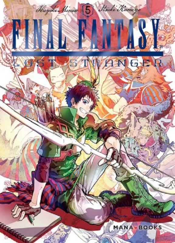 Final fantasy lost stranger T5, manga chez Mana Books de Minase, Kameya