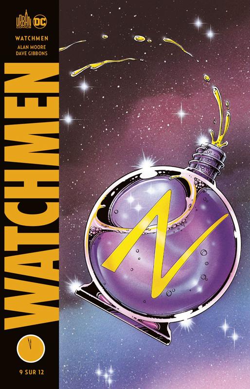 Watchmen T9, comics chez Urban Comics de Moore, Gibbons, Higgins