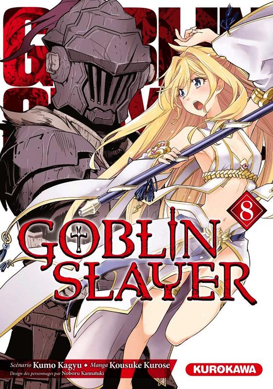 Goblin slayer T8, manga chez Kurokawa de Kagyu, Kurose
