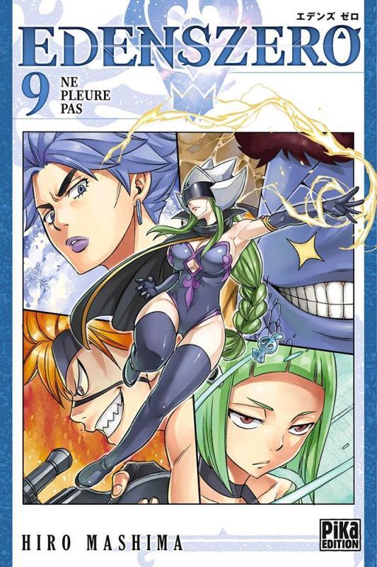 Edens zero T9, manga chez Pika de Mashima