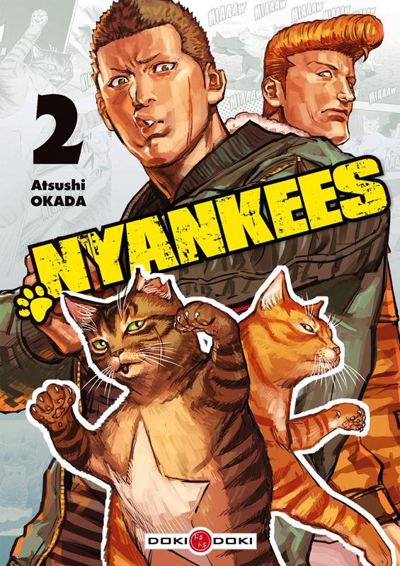 Nyankees T2, manga chez Bamboo de Okada