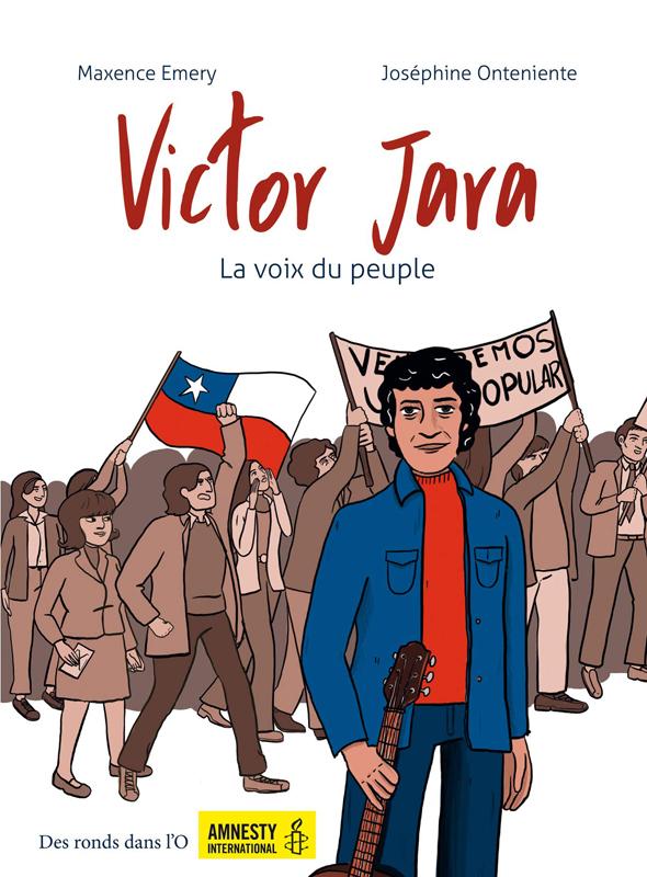 Victor Jara, bd chez Des ronds dans l'O de Emery, Onteniente