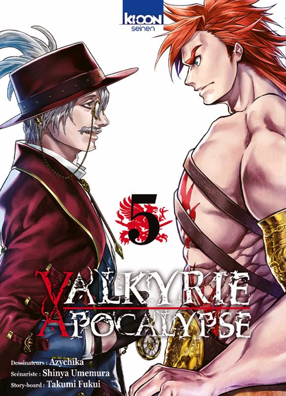 Valkyrie apocalypse T5, manga chez Ki-oon de Umemura, Ajichika