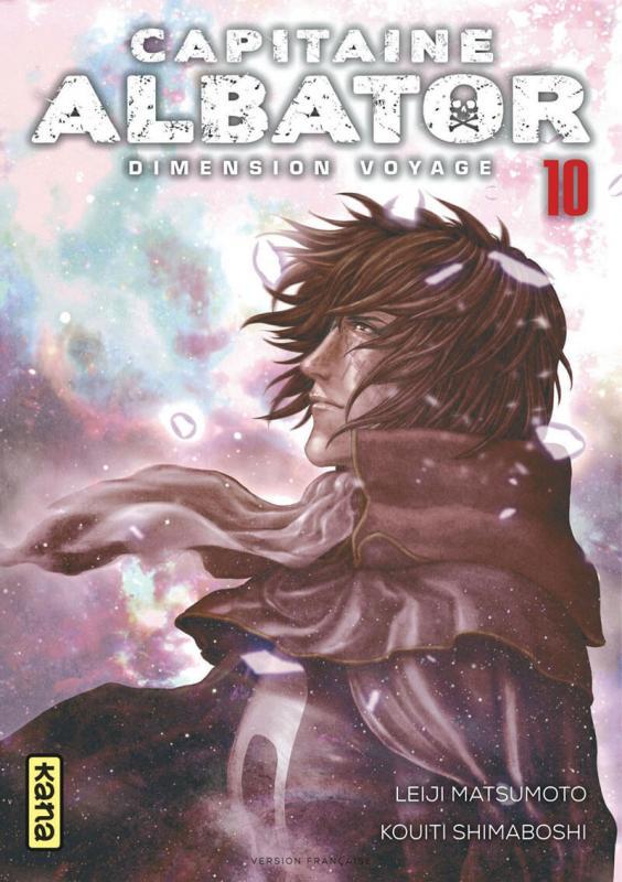 Capitaine Albator Dimension voyage T10, manga chez Kana de Matsumoto, Shimaboshi