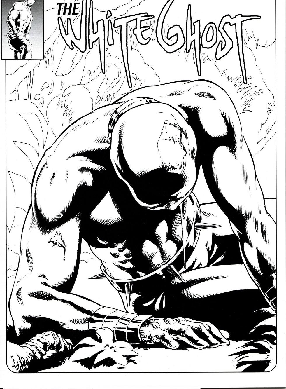 The White Ghost T2, comics chez (à compte d'auteur) de Duvet
