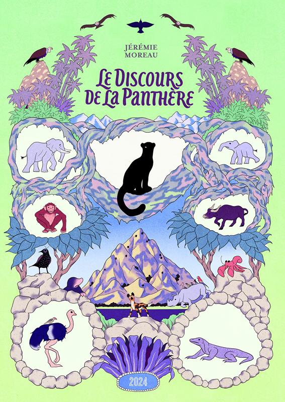 Le Discours de la panthère, bd chez 2024 de Moreau