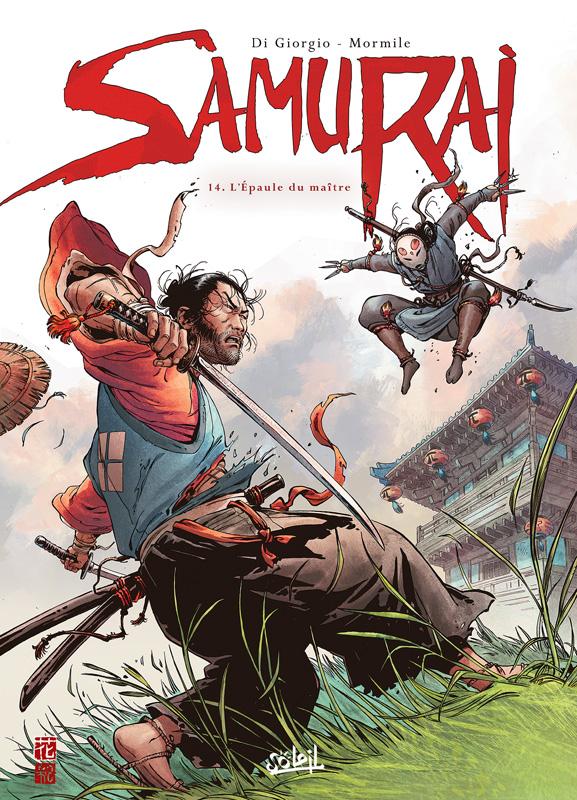 Samurai – cycle 4, T14 : L'épaule du maître (0), bd chez Soleil de Di Giorgio, Mormile, Pieri