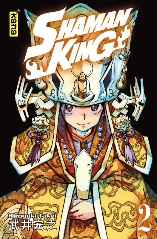 Shaman King – Star edition, T2, manga chez Kana de Takei