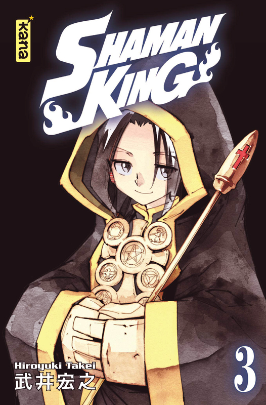 Shaman King – Star edition, T3, manga chez Kana de Takei