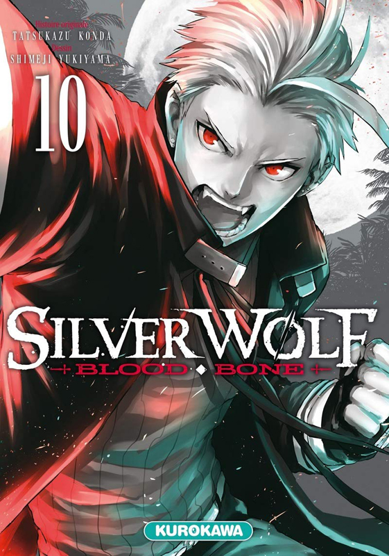 Silver wolf Blood bone T10, manga chez Kurokawa de Konda, Yukiyama