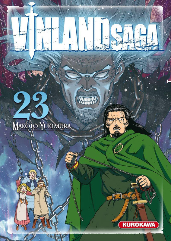 Vinland Saga T23, manga chez Kurokawa de Yukimura