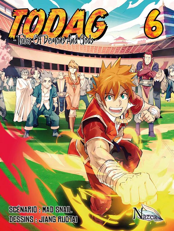 Todag - Tales of demon and gods T6, manga chez Nazca de Mad snail, Ruotai