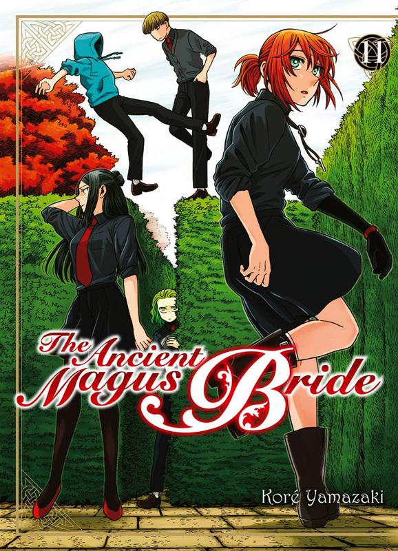 The ancient magus bride  T11, manga chez Komikku éditions de Yamazaki