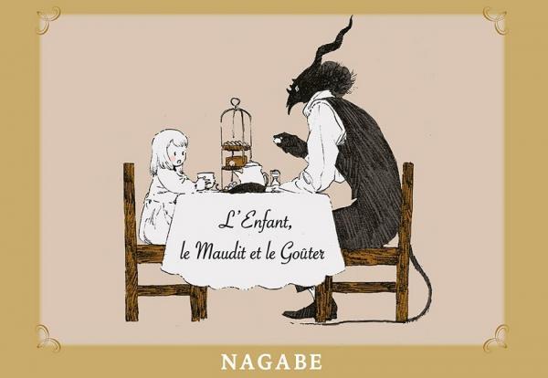 L'enfant et le maudit  : L'enfant, le maudit et le goûter (0), manga chez Komikku éditions de Nagabe