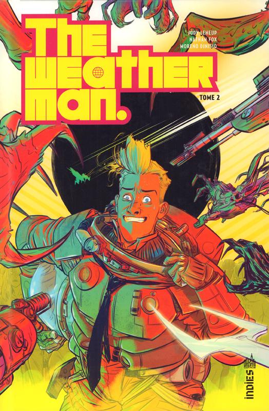 The weatherman T2, comics chez Urban Comics de Leheup, Fox, Dinisio