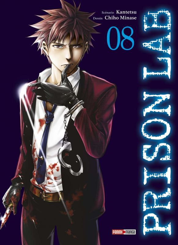Prison lab T8, manga chez Panini Comics de Kantetsu, Minase