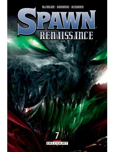 Spawn Renaissance T7, comics chez Delcourt de McFarlane, Kudranski, Alexander, Haberlin, FCO Plascencia, Loughridge, Mattina