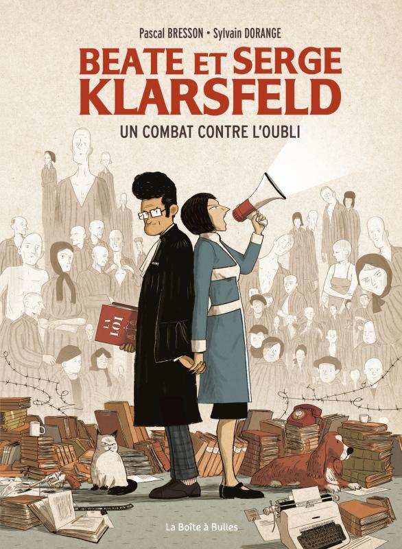 Beate et Serge Klarsfeld : Un combat contre l'oubli (0), bd chez La boîte à bulles de Bresson, Dorange