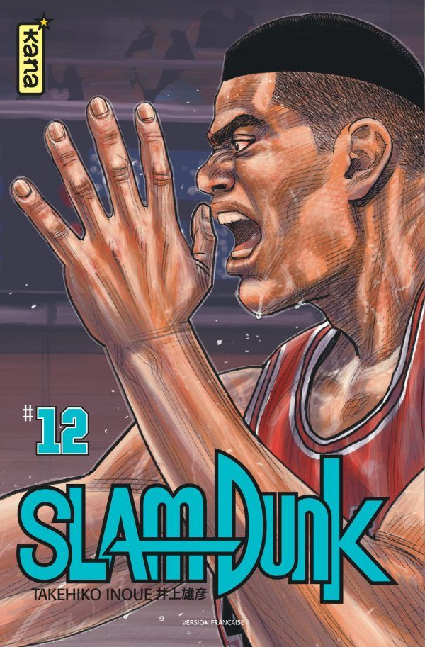 Slam Dunk – Star edition, T12, manga chez Kana de Inoue