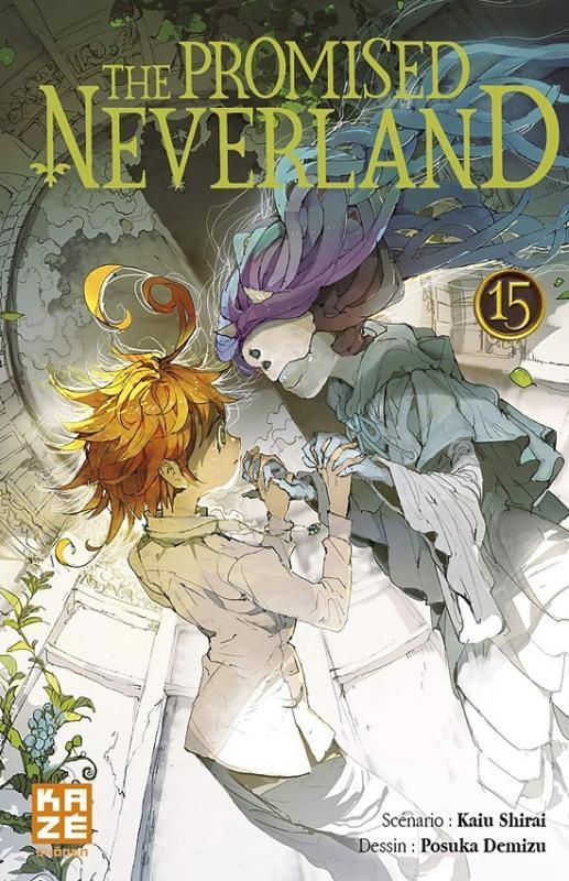 The promised neverland T15, manga chez Kazé manga de Shirai, Demizu
