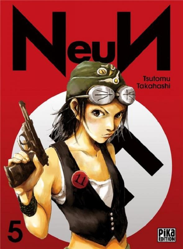 NeuN T5, manga chez Pika de Takahashi
