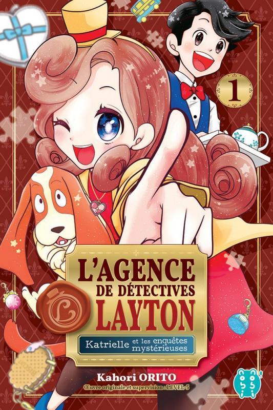 L'agence de détectives Layton  T1, manga chez Nobi Nobi! de Orito