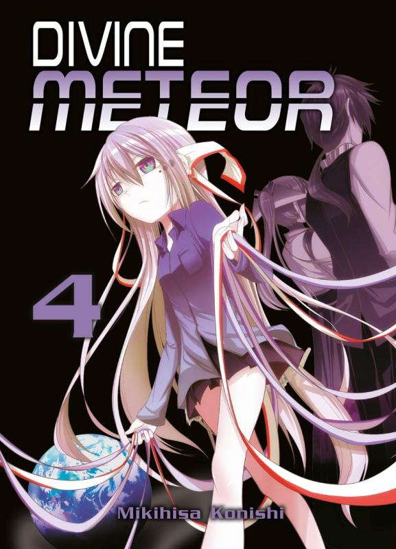 Divine meteor T4, manga chez Komikku éditions de Konishi