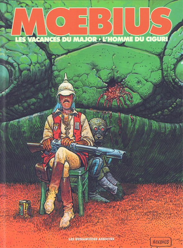 Moebius oeuvres T4 : Les Vacances du major et L'Homme du Ciguri (0), bd chez Les Humanoïdes Associés de Moebius