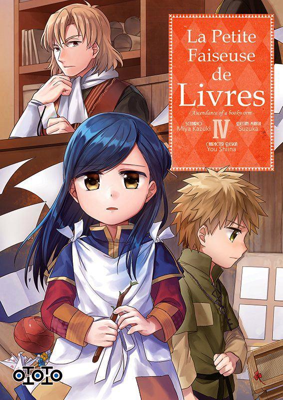 La petite faiseuse de livres T4, manga chez Ototo de Kazuki, Suzuka