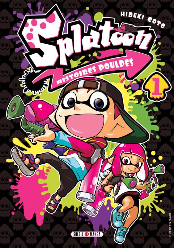 Splatoon Histoires poulpes T1, manga chez Soleil de Gotô