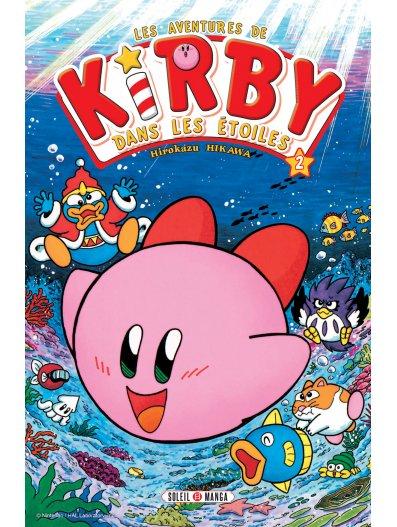 Les aventures de Kirby dans les étoiles T2, manga chez Soleil de Sakurai, Hikawa