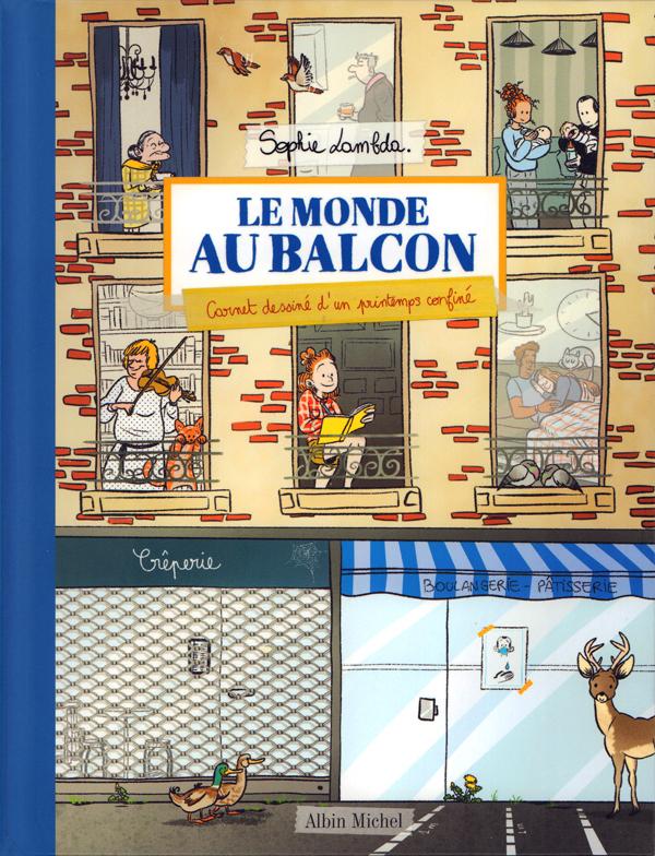 Le Monde au balcon, bd chez Albin Michel de Lambda