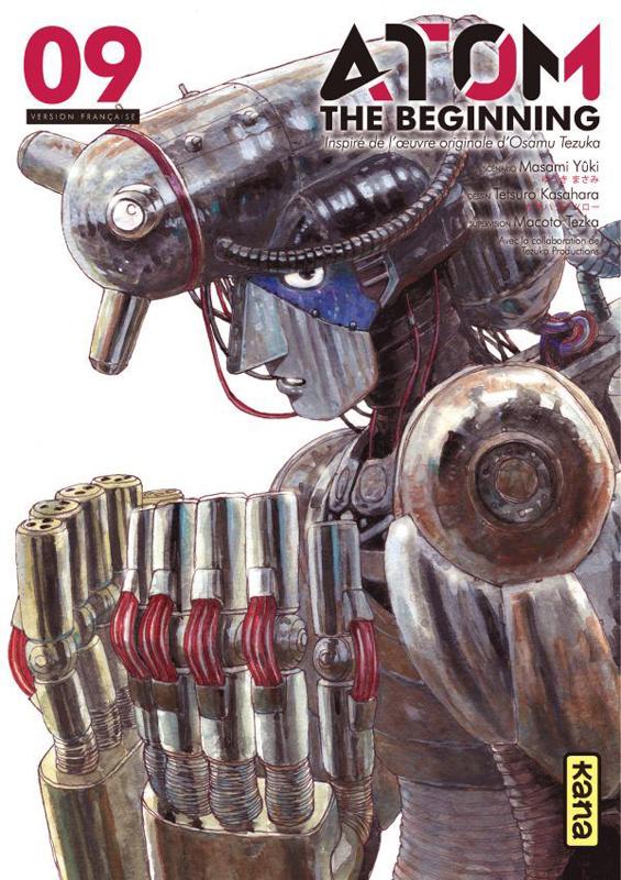 Atom - The beginning  T9, manga chez Kana de Yuuki, Tezuka, Kasahara