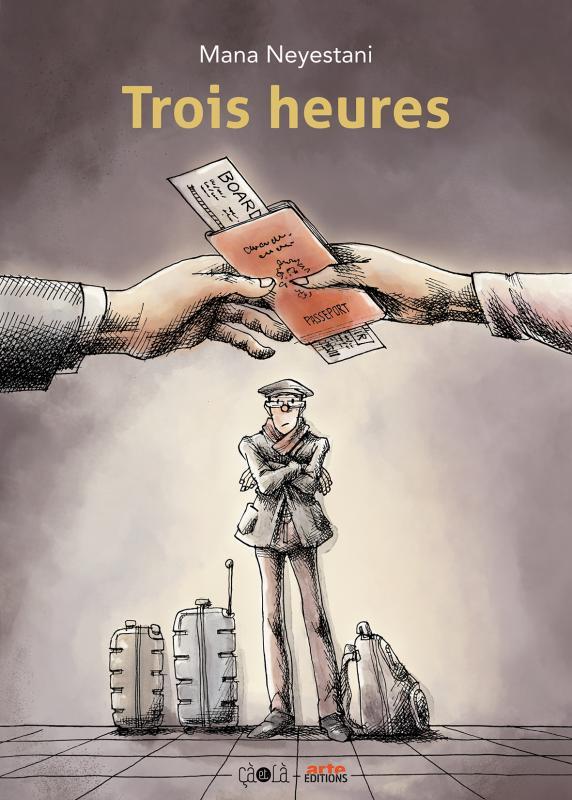 Trois heures, bd chez Çà et là de Neyestani