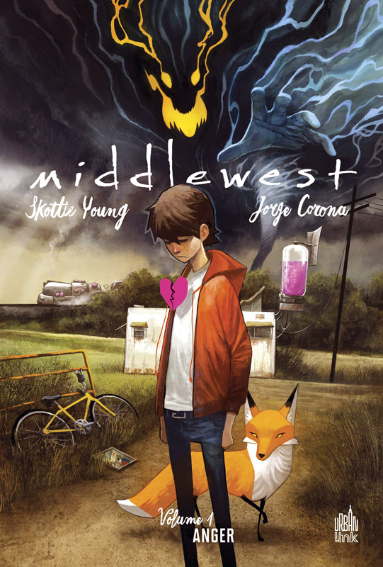 Middlewest T1 : Anger (0), comics chez Urban Comics de Young, Corona, Beaulieu, Huddleston