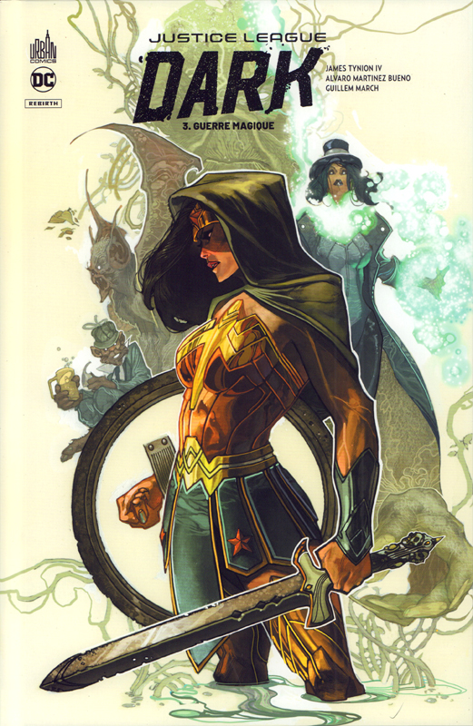Justice Ligue Dark Rebirth T3 : Guerre magique (0), comics chez Urban Comics de Ram V, Tynion IV, Fernandez, Blanco, Martinez, March, Kalisz, Prianto, Lucas, Anderson, Bianchi