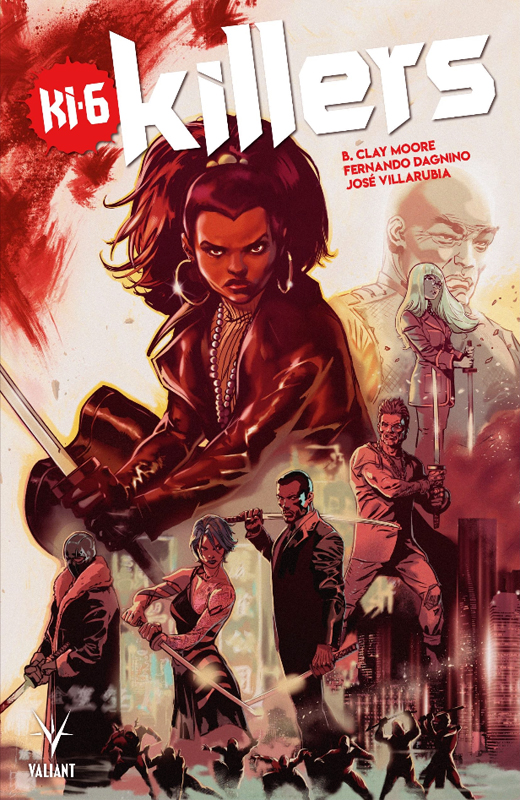 Killers, comics chez Bliss Comics de Moore, Dagnino, Villarubia, Meyers