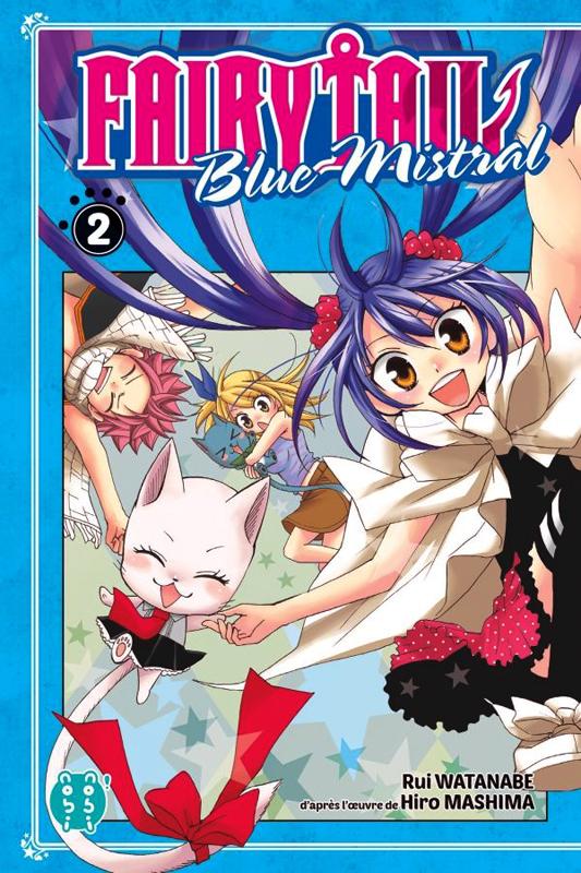 Fairy tail - Blue mistral – Edition Nobi Nobi !, T2, manga chez Nobi Nobi! de Mashima, Watanabe