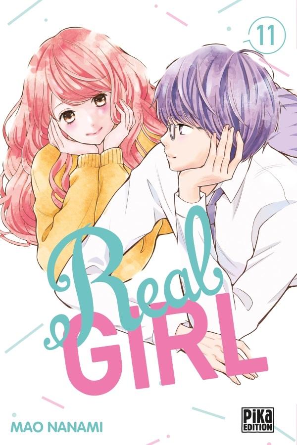 Real girl  T11, manga chez Pika de Nanami