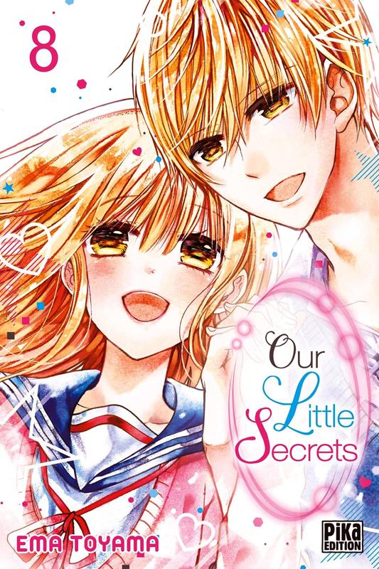 Our little secrets  T8, manga chez Pika de Toyama