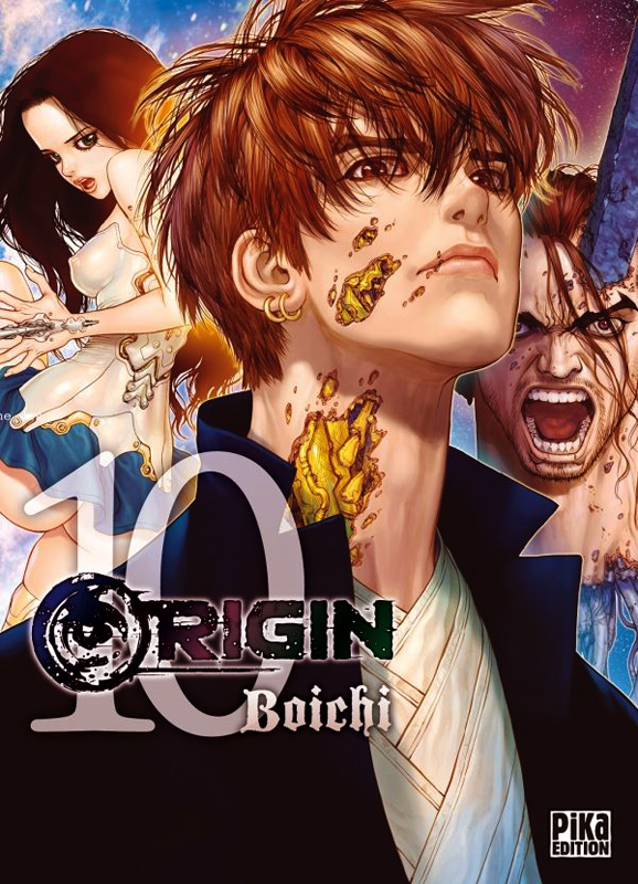Origin T10, manga chez Pika de Boichi