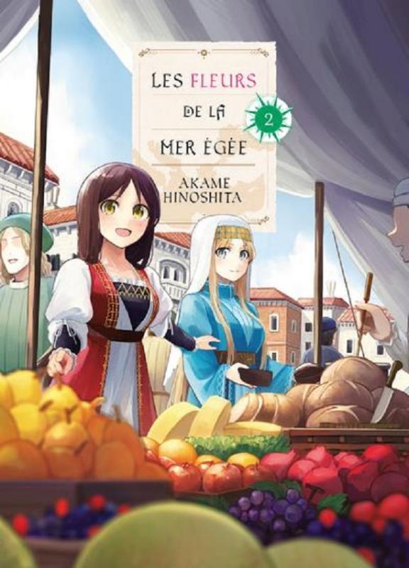 Les fleurs de la mer Egée T2, manga chez Komikku éditions de Hinoshita